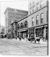 New Orleans Hotel, C1900 Canvas Print