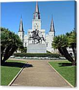 New Orleans - Jackson's Square Canvas Print