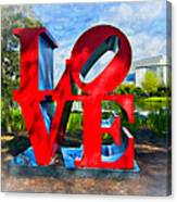 New Orleans Love 2 Canvas Print