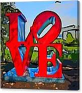 New Orleans Love 3 Canvas Print
