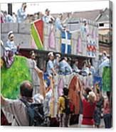 New Orleans - Mardi Gras Parades - 1212101 Canvas Print