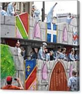 New Orleans - Mardi Gras Parades - 1212102 Canvas Print