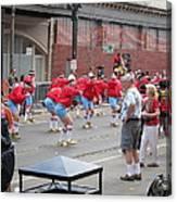 New Orleans - Mardi Gras Parades - 1212105 Canvas Print