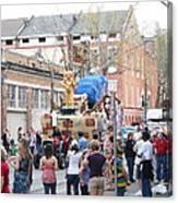 New Orleans - Mardi Gras Parades - 1212114 Canvas Print