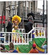 New Orleans - Mardi Gras Parades - 1212120 Canvas Print