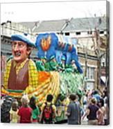 New Orleans - Mardi Gras Parades - 1212126 Canvas Print