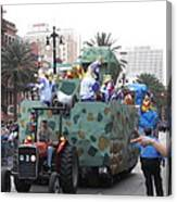 New Orleans - Mardi Gras Parades - 121214 Canvas Print