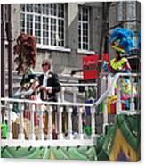 New Orleans - Mardi Gras Parades - 1212144 Canvas Print