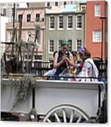 New Orleans - Mardi Gras Parades - 1212145 Canvas Print