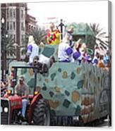 New Orleans - Mardi Gras Parades - 121215 Canvas Print
