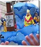 New Orleans - Mardi Gras Parades - 121221 Canvas Print