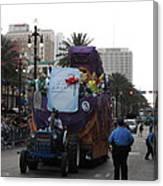 New Orleans - Mardi Gras Parades - 121226 Canvas Print