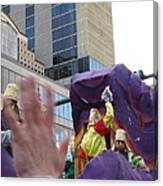 New Orleans - Mardi Gras Parades - 121229 Canvas Print