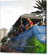 New Orleans - Mardi Gras Parades - 121238 Canvas Print
