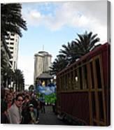 New Orleans - Mardi Gras Parades - 121239 Canvas Print