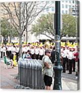 New Orleans - Mardi Gras Parades - 121281 Canvas Print