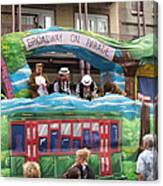 New Orleans - Mardi Gras Parades - 121282 Canvas Print