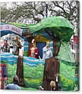 New Orleans - Mardi Gras Parades - 121283 Canvas Print