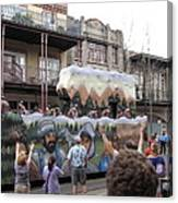 New Orleans - Mardi Gras Parades - 121287 Canvas Print