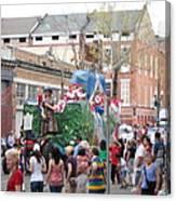 New Orleans - Mardi Gras Parades - 121291 Canvas Print