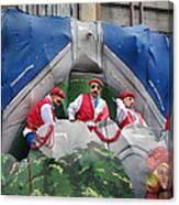 New Orleans - Mardi Gras Parades - 121294 Canvas Print