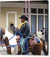 New Orleans - Mardi Gras Parades - 121299 Canvas Print