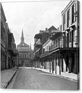New Orleans Old French Quarter Canvas Print