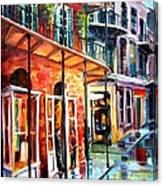 New Orleans Rainy Day Canvas Print