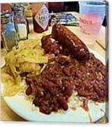 New Orleans Red Beans And Rice Canvas Print