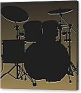 New Orleans Saints Drum Set Canvas Print