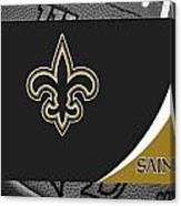 New Orleans Saints Canvas Print