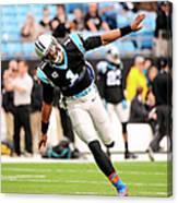 New Orleans Saints V Carolina Panthers Canvas Print