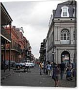 New Orleans - Seen On The Streets - 121241 Canvas Print