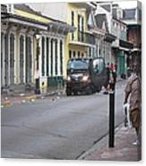 New Orleans - Seen On The Streets - 121252 Canvas Print