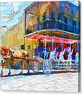 New Orleans Series 53 Canvas Print