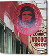 New Orleans Shops Canvas Print