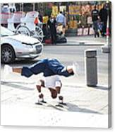 New Orleans - Street Performers - 121212 Canvas Print