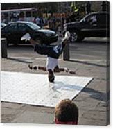 New Orleans - Street Performers - 121218 Canvas Print