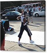 New Orleans - Street Performers - 121219 Canvas Print