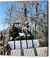 New Orleans - Swamp Boat Ride - 1212103 Canvas Print