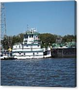 New Orleans - Swamp Boat Ride - 121229 Canvas Print
