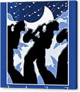 New Orleans Vintage Jazz And Heritage Festival 1980 Canvas Print
