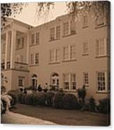 New Perry Hotel In Sepia Canvas Print