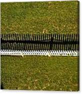 New Perspective Of The Picket Fence Canvas Print