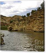 New Photographic Art Print For Sale Banks Of The Rio Grande New Mexico Canvas Print