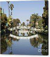 New Photographic Art Print For Sale Canals Of Venice California Canvas Print