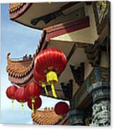 New Photographic Art Print For Sale Downtown Chinatown Canvas Print