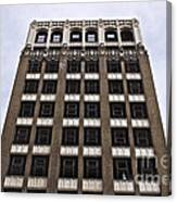 Vacant Downtown Building Los Angeles 3 Canvas Print