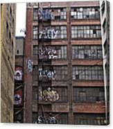 New Photographic Art Print For Sale Downtown Los Angeles 5 Canvas Print