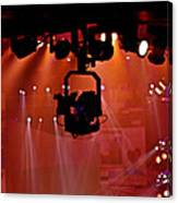 New Photographic Art Print For Sale Lights Camera Action Backstage At The American Music Award Canvas Print